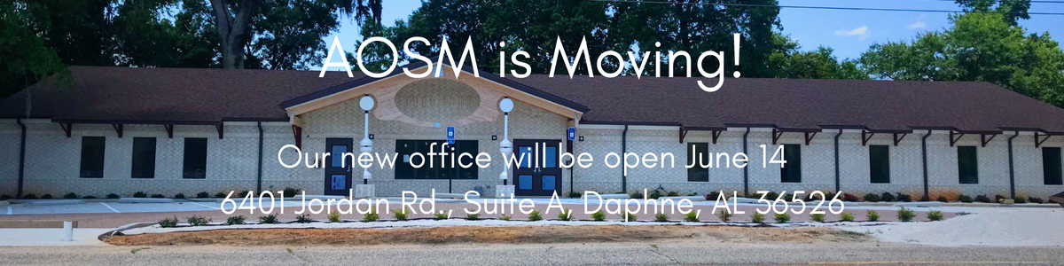 AOSM is Moving!